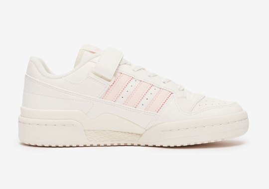 The adidas Forum Low Softens Up For A New Cream And Pink Offering
