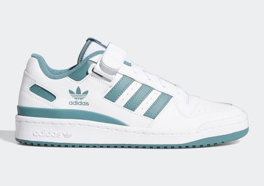 """The adidas Forum Low Gets Jaded In """"Hazy Emerald"""""""