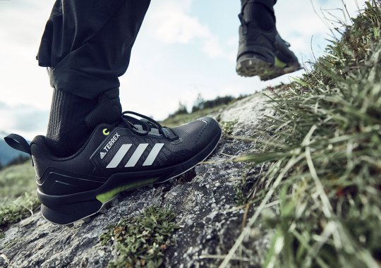 The New adidas Terrex Swift R3 Is Built For Speed In The Mountains