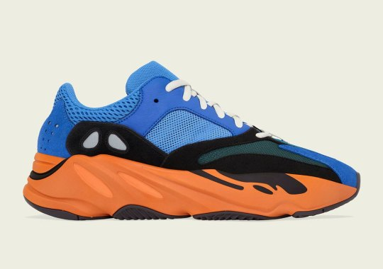 "Official Images Of The adidas Yeezy Boost 700 ""Bright Blue"""