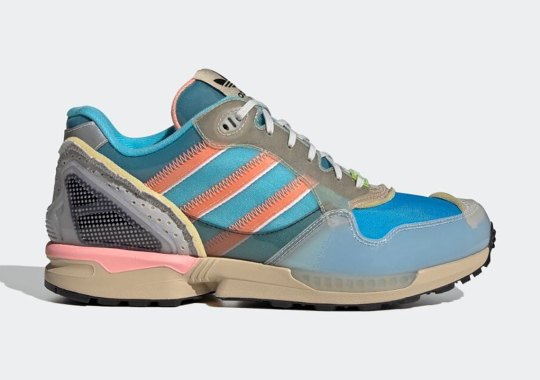 "The X-Ray-Inspired adidas ZX 6000 ""Inside Out"" Pack Features A Bright Cyan Offering"