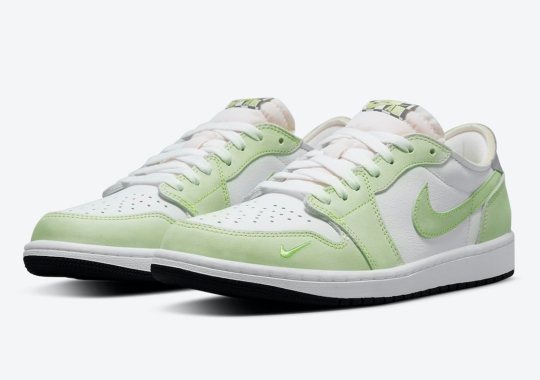"""Official Images Of The Air Jordan 1 Low OG """"Ghost Green"""""""