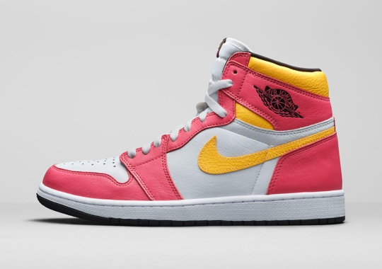 """The Air Jordan 1 Retro High OG """"Light Fusion Red"""" To Release In Full Family And Extended Women's Sizing"""