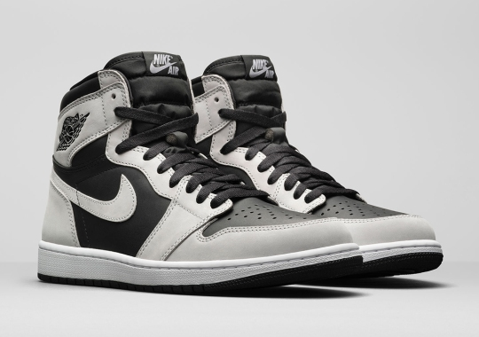 "Air Jordan 1 Retro High OG ""Light Smoke Grey"" Combines Nubuck And Leather Uppers"