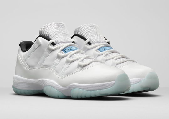 "The Air Jordan 11 Low ""Legend Blue"" Directly Nods To The 1996 All-Star Game"