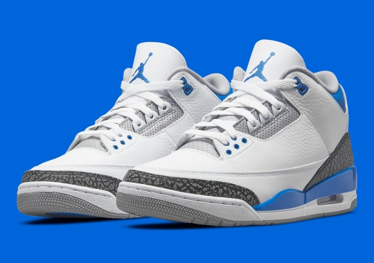 "Air Jordan 3 ""Racer Blue"" Releases On July 10th"
