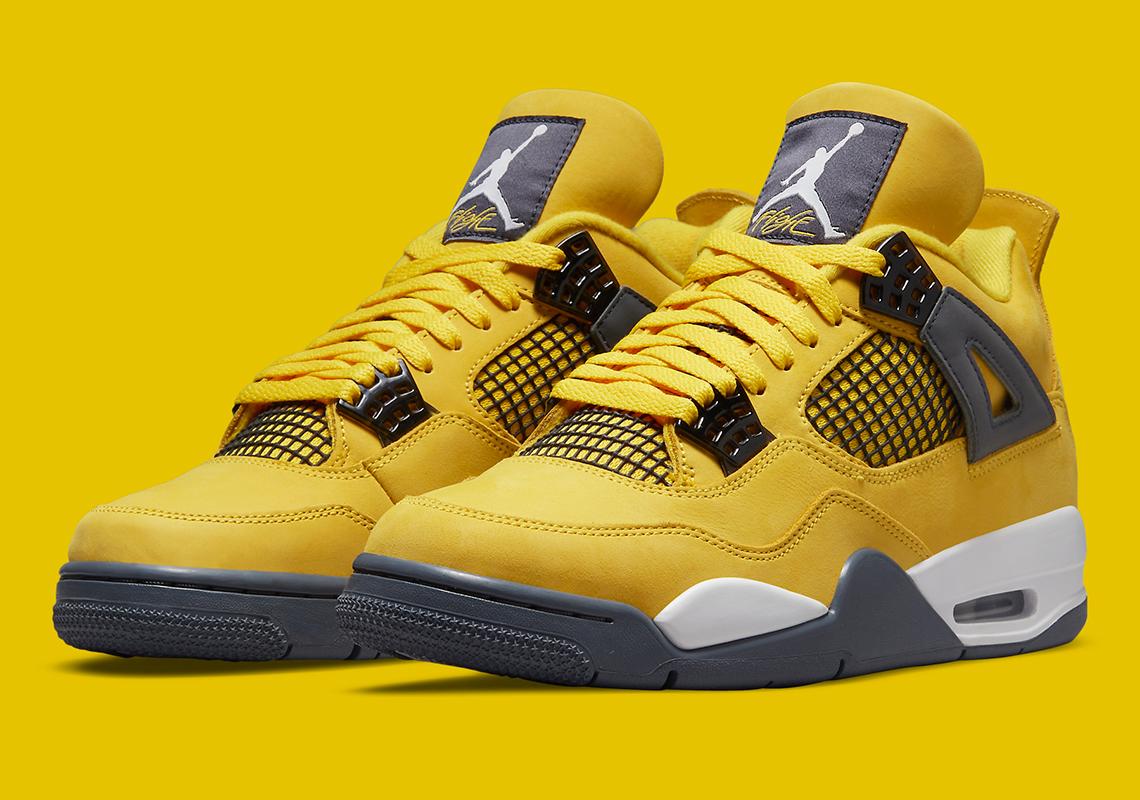 """Air Jordan 4 """"Lightning"""" CT8527-700 Release Date   SneakerNews.com"""