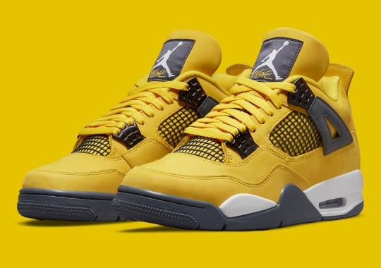"""The Air Jordan 4 """"Lightning"""", One Of The Biggest Retro Grails In History, Is Coming Back"""