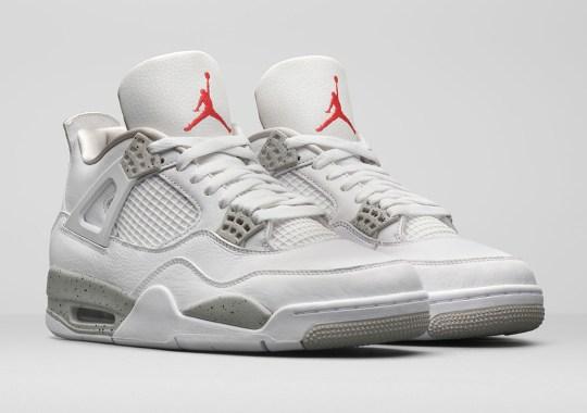 "The Air Jordan 4 Retro ""Tech Grey"" Is Officially Unveiled"