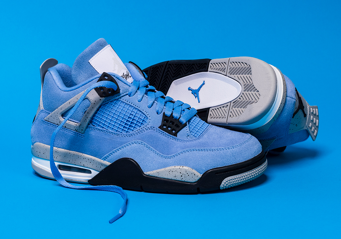 Air Jordan 4 University Blue CT8527-400 UNC | SneakerNews.com