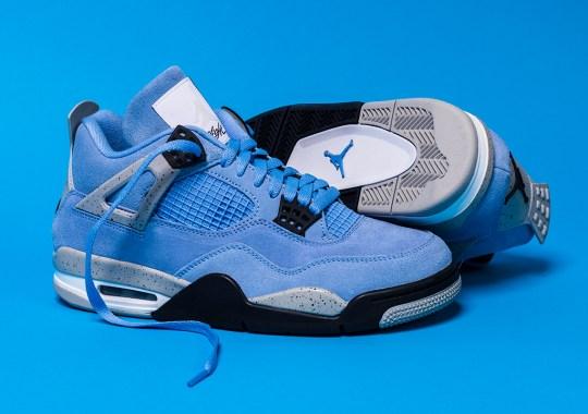 "The Air Jordan 4 ""University Blue"" Releases Tomorrow"