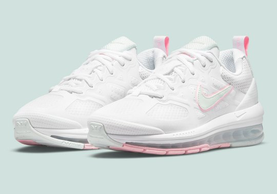 This Women's Air Max Genome Ditches Its Debut Brights For Soft Pastels