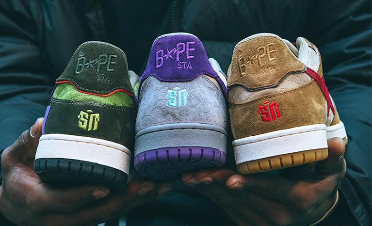 BAPE x Sneaker News