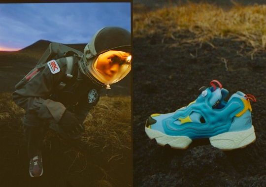 "Billionaire Boys Club Presents The Reebok Instapump Fury BOOST ""Earth And Water"" Collection"