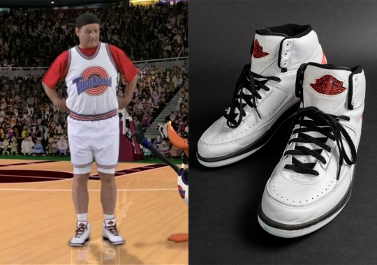 """Bill Murray's """"Game Worn"""" Air Jordan 2 Retro From Space Jam Is Up For Auction"""