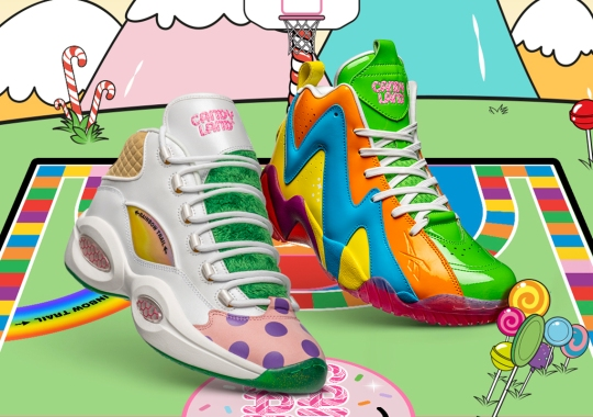 Candy Land's Sweet Reworks Of Four Reebok Classics Release April 21st