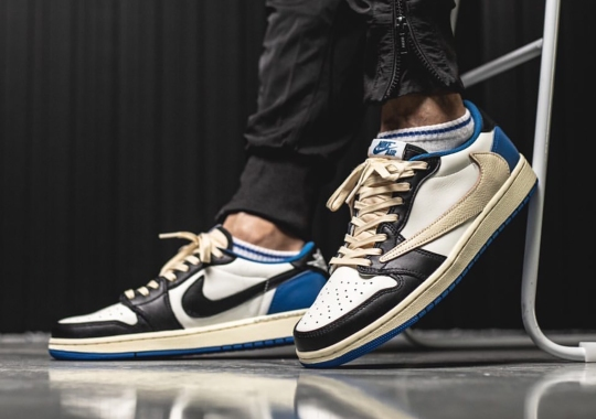 Travis Scott And fragment Also Have An Air Jordan 1 Low In The Works