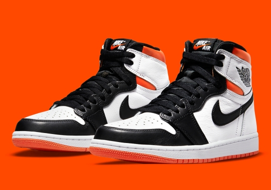 "Official Images Of The Air Jordan 1 Retro High OG ""Electro Orange"""
