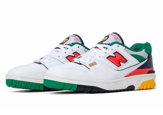 The Trendy New Balance 550 Gets A Multi-Colored Take