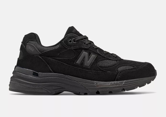 The New Balance 992 Is Launching In A Triple Black