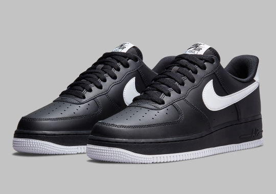 The Tuxedo Look Returns To The Nike Air Force 1 Low