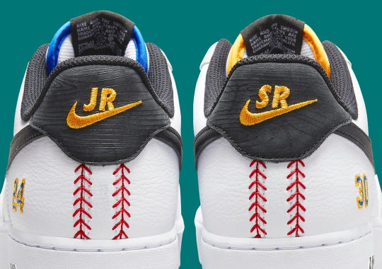 Nike Honors Mariners Teammates Ken Griffey Jr. And Sr. With This Upcoming Air Force 1