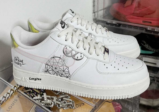 """Nike Air Force 1 """"The Great Unity"""" Draws Inspiration From Classical Chinese Philosophy"""