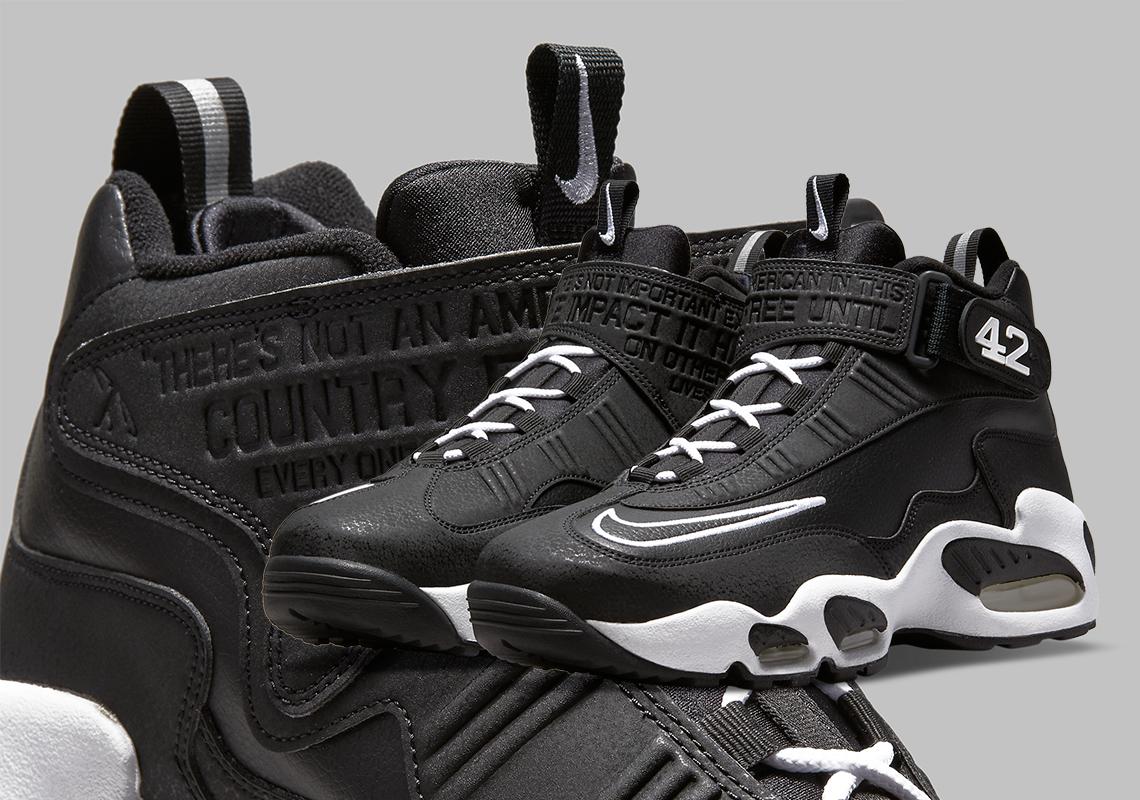 Nike Air Griffey Max 1 Jackie Robinson DM0044-001 | SneakerNews.com