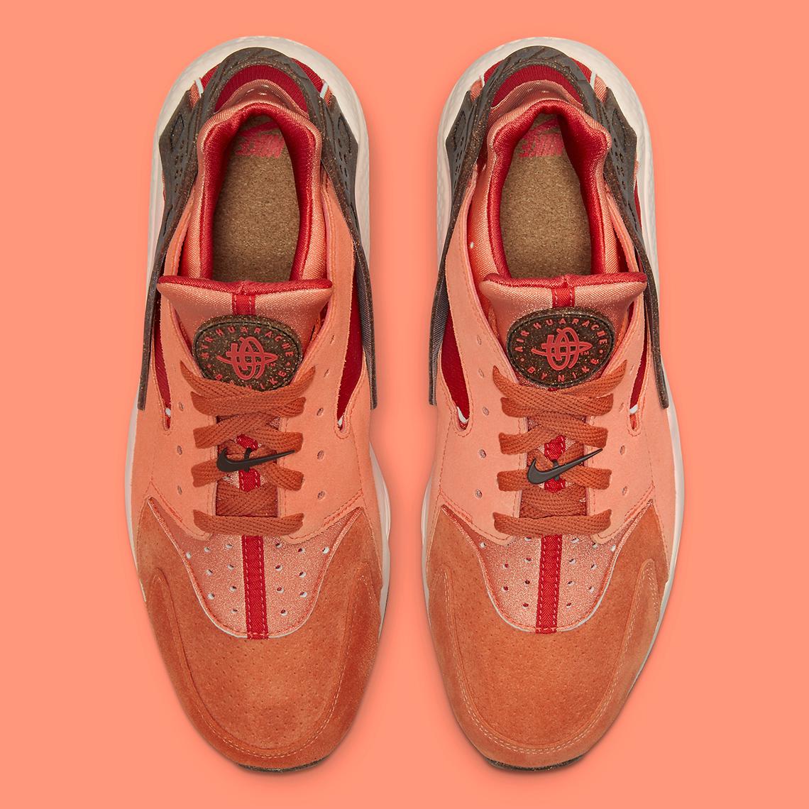 Nike Air Huarache Turf Orange Chile Red Orange Frost DM6238-800 ...
