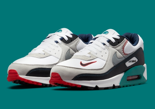 Ken Griffey Jr.'s Backwards Cap Featured In His Upcoming Nike Air Max 90