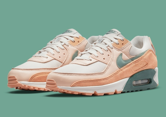 Nike's Premium Trim Of Air Max 90s Appears In Dutch Green And Shimmer