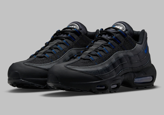 Checkered Stripe Gives The Nike Air Max 95 A Race-Inspired Look