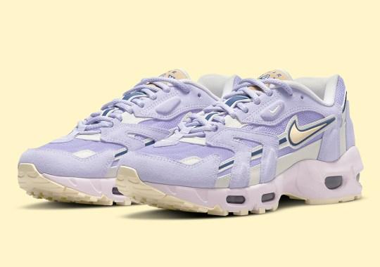 "Nike Brings Spring Pastels To The Air Max 96 II ""Purple Dawn"""