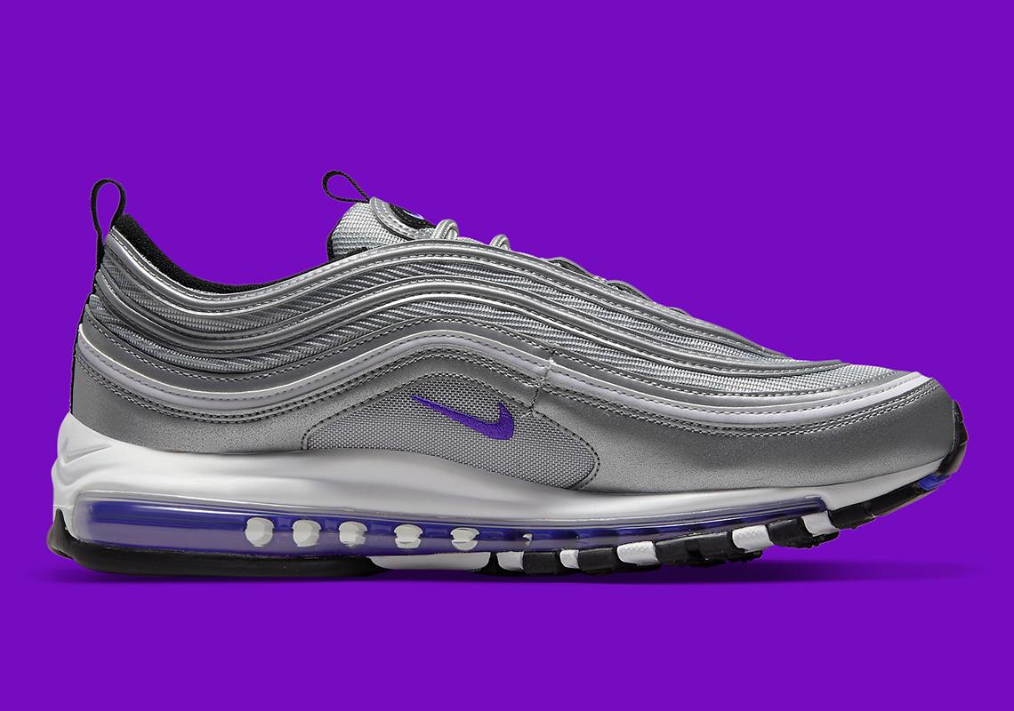 Nike Air Max 97 Metallic Silver Purple DJ0717-001   SneakerNews.com