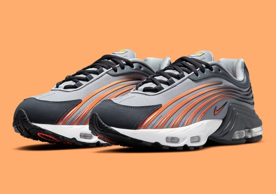 The Nike Air Max Plus 2 Re-appears In Grey And Orange