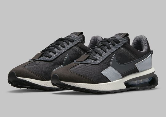 The Nike Air Max Pre-Day Is Coming Soon In Black And Grey Mix