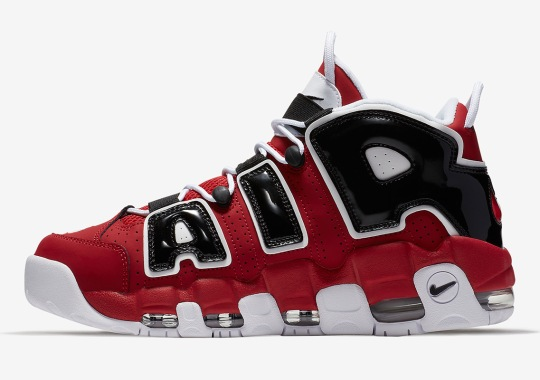 "The Nike Air More Uptempo ""Hoop Pack"" Returns On April 16th"
