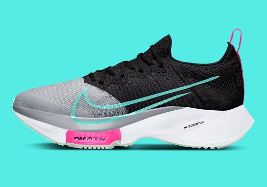 The Nike Zoom Tempo NEXT% Gets Some South Beach Flair