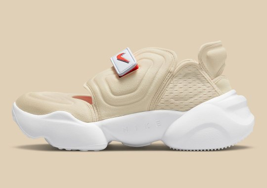 "The Beach-Ready Nike Aqua Rift Returns In A Sandy ""Rattan"" Colorway"
