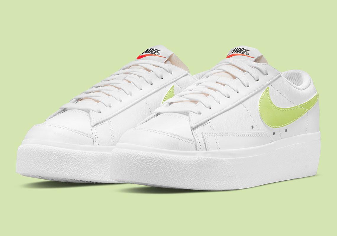 Nike Blazer Low Platform W Lemon Twist DJ0292-102 | SneakerNews.com