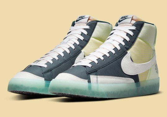 The Nike Blazer Mid '77 Echoes The Brand's Move To Zero Efforts