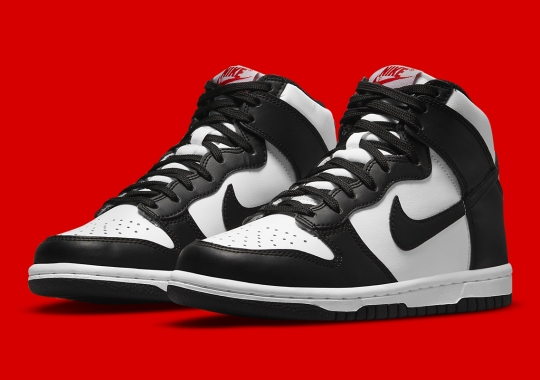 The Upcoming Black/White Nike Dunk High Is Dropping In Kids Sizes Too