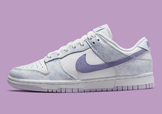 """Official Images Of The Women's Nike Dunk Low """"Purple Pulse"""""""