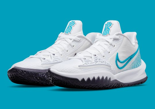 The Nike Kyrie Low 4 Is Getting A Refreshing White And Laser Blue Colorway