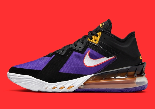 The Nike LeBron 18 Low Pays Homage To The Great ACG Terra