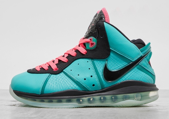 """First Look At The Nike LeBron 8 """"South Beach"""" Retro"""