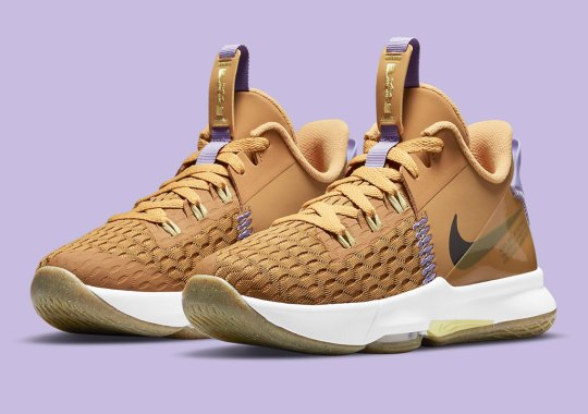 The Nike LeBron Witness 5 Gets A Surprising Wheat Mix