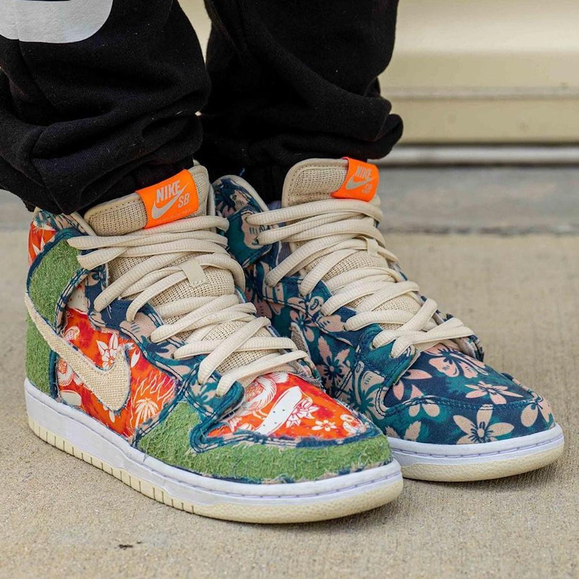 Nike SB Dunk High Maui Wowie CZ2232-300 Release Date   SneakerNews.com