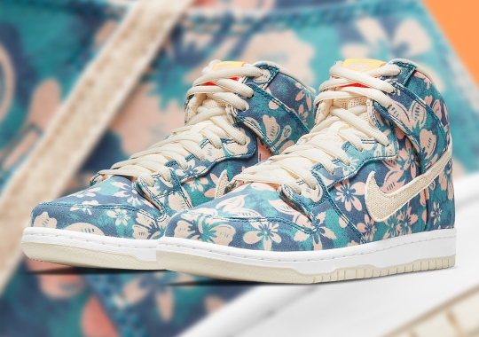 "Official Images Of The Nike SB Dunk High ""Maui Wowie"""