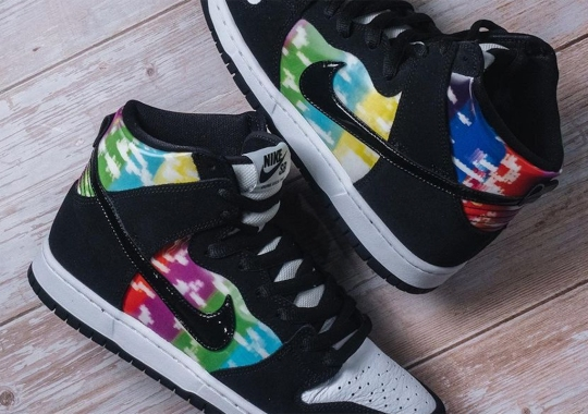 """This Nike SB Dunk High """"Color Bars"""" Won't Drop In The US"""